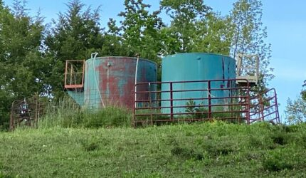 Oil tanks in east tennessee